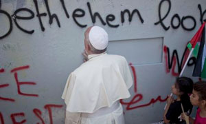 Pope in Bethlehem