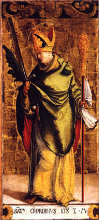 Painting of Saint Cyprian
