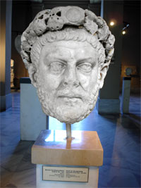 Laureate bust of Diocletian